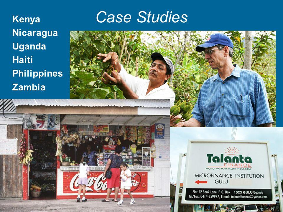 Case Studies Kenya Nicaragua Uganda Haiti Philippines Zambia Pictures: