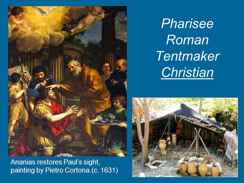 Pharisee Roman Tentmaker Christian