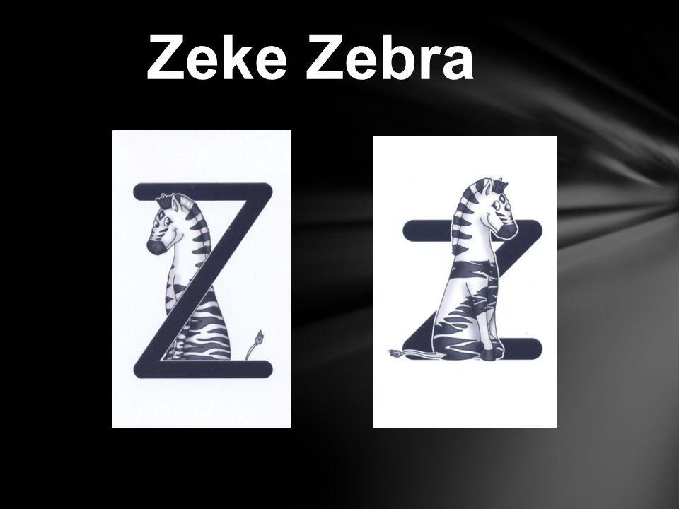 Zeke Zebra