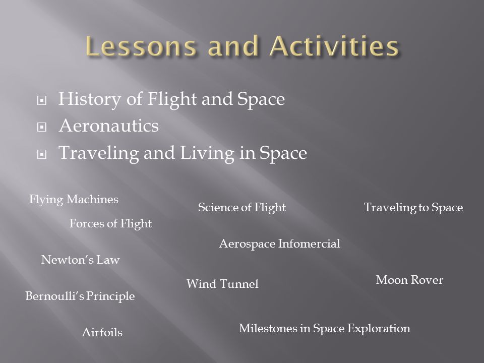 Lessons and Activities