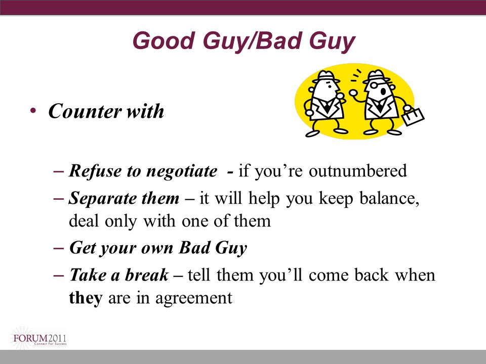 Good Guy/Bad Guy Counter with