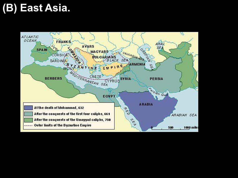 (B) East Asia.
