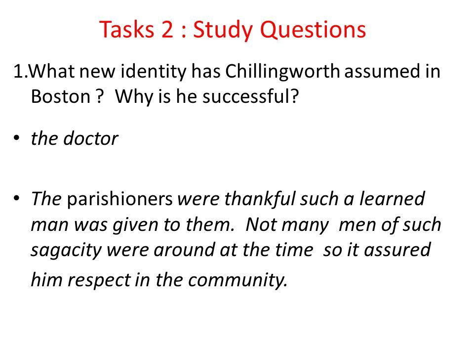 Tasks 2 : Study Questions