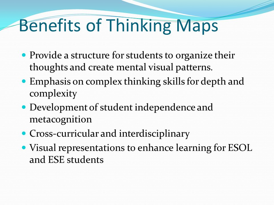 Benefits of Thinking Maps