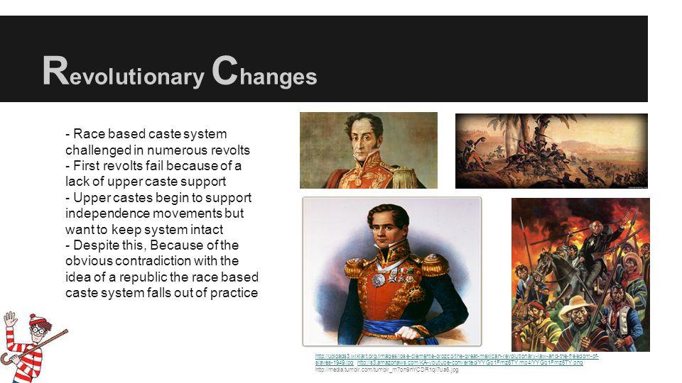Revolutionary Changes
