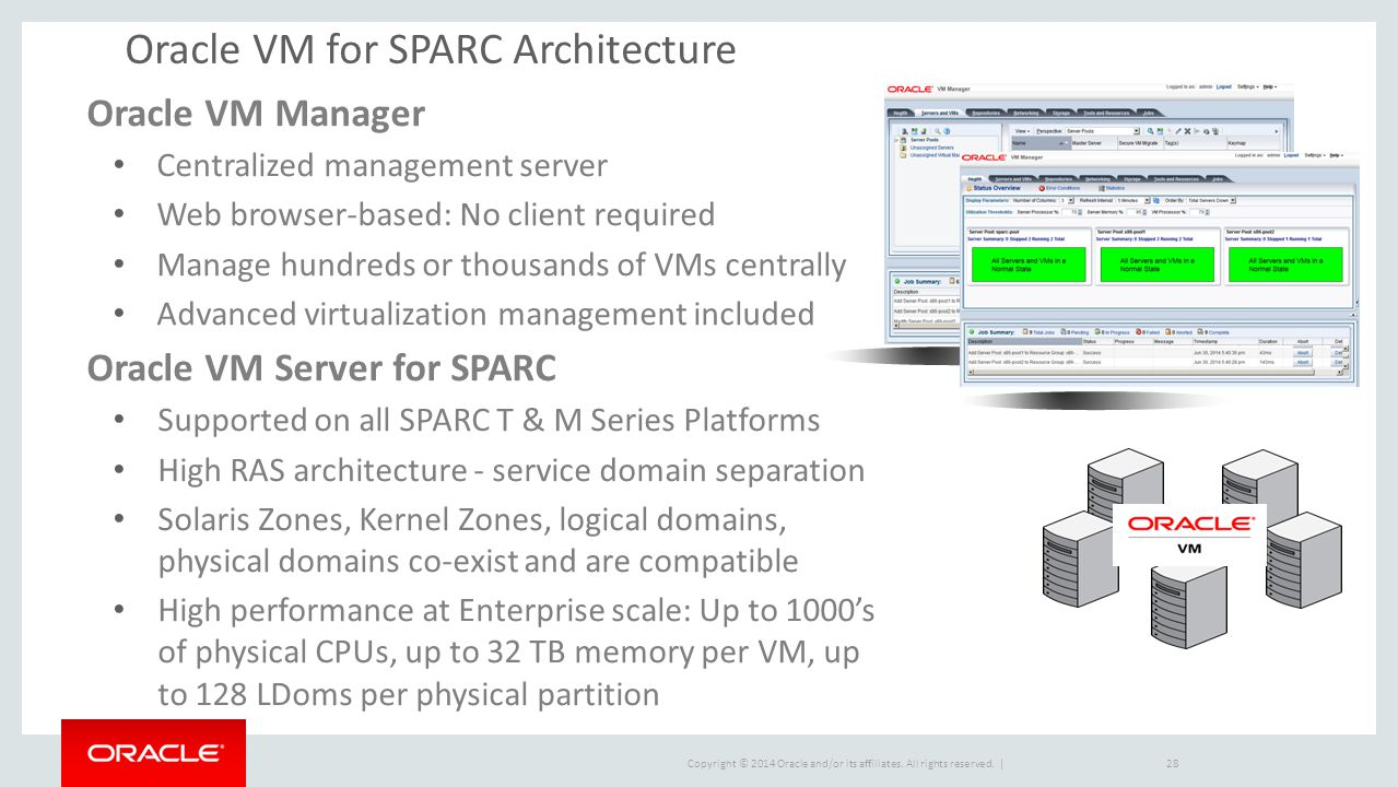 Oracle VM for SPARC Architecture