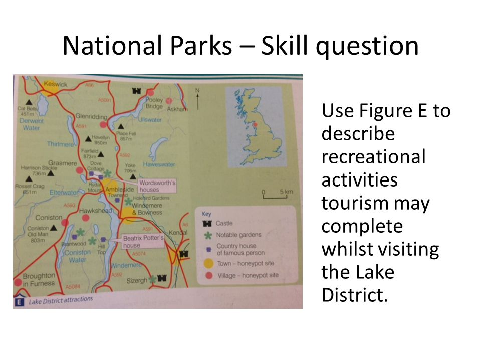 National Parks – Skill question