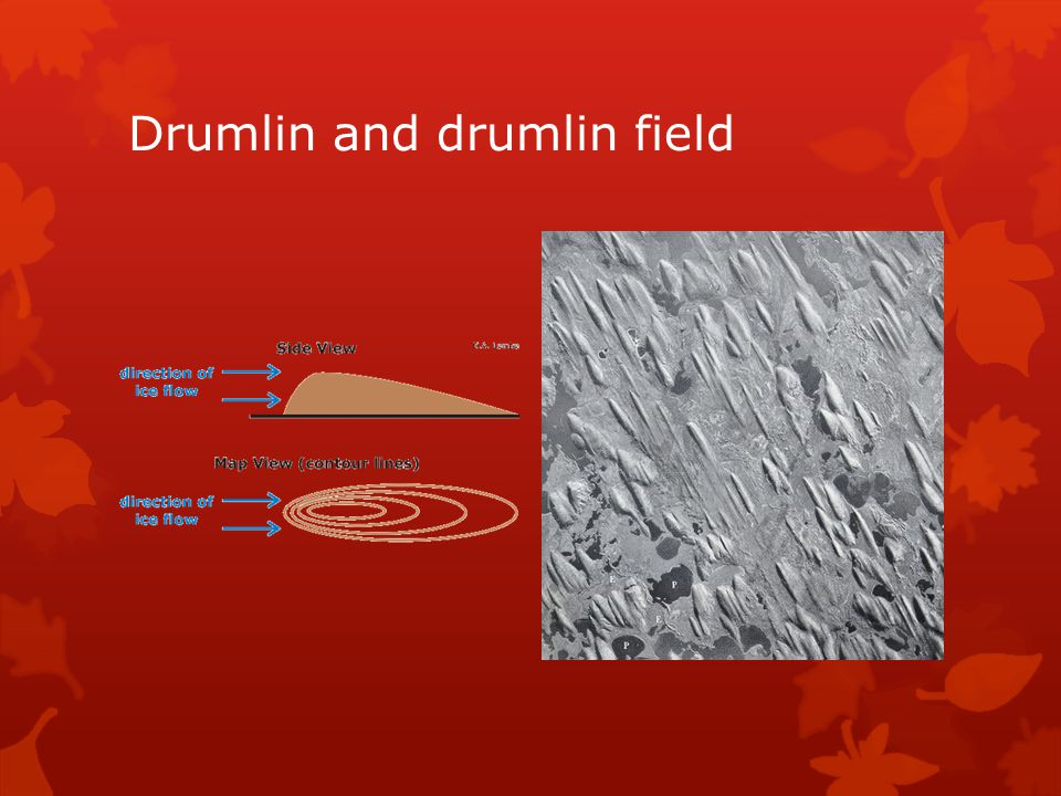 Drumlin and drumlin field