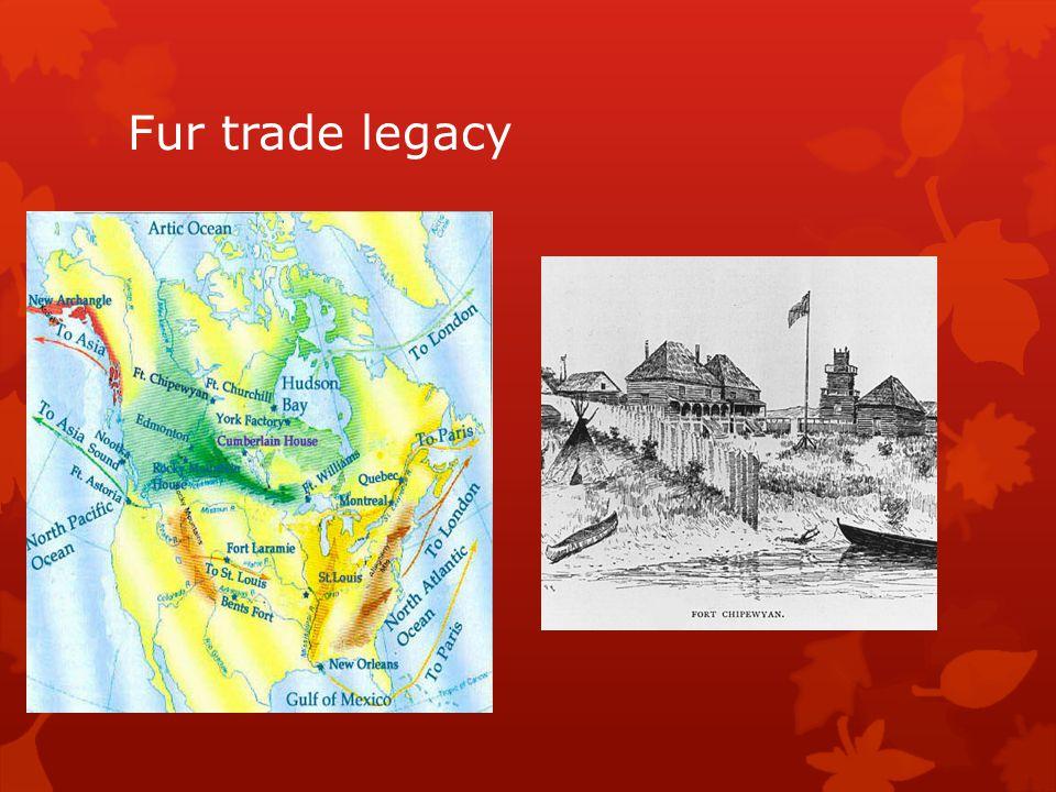 Fur trade legacy