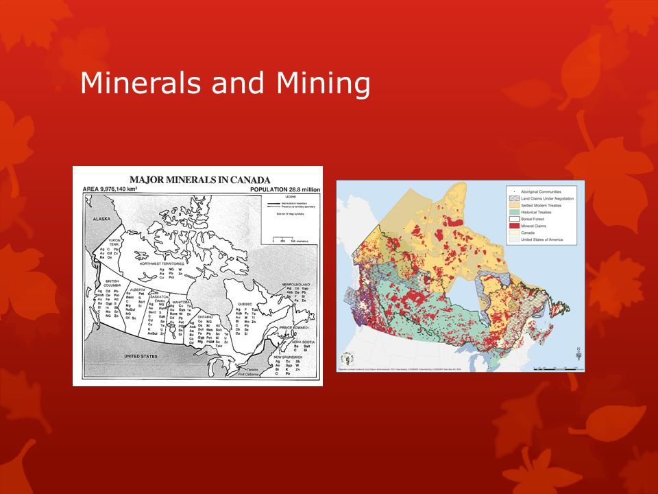 Minerals and Mining