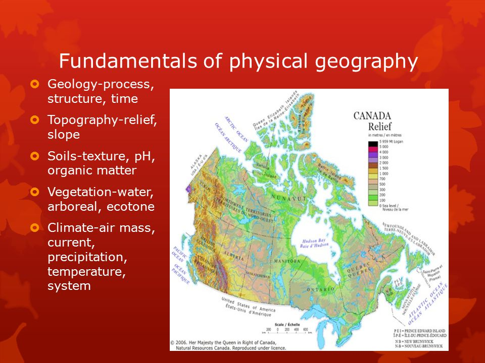 Fundamentals of physical geography