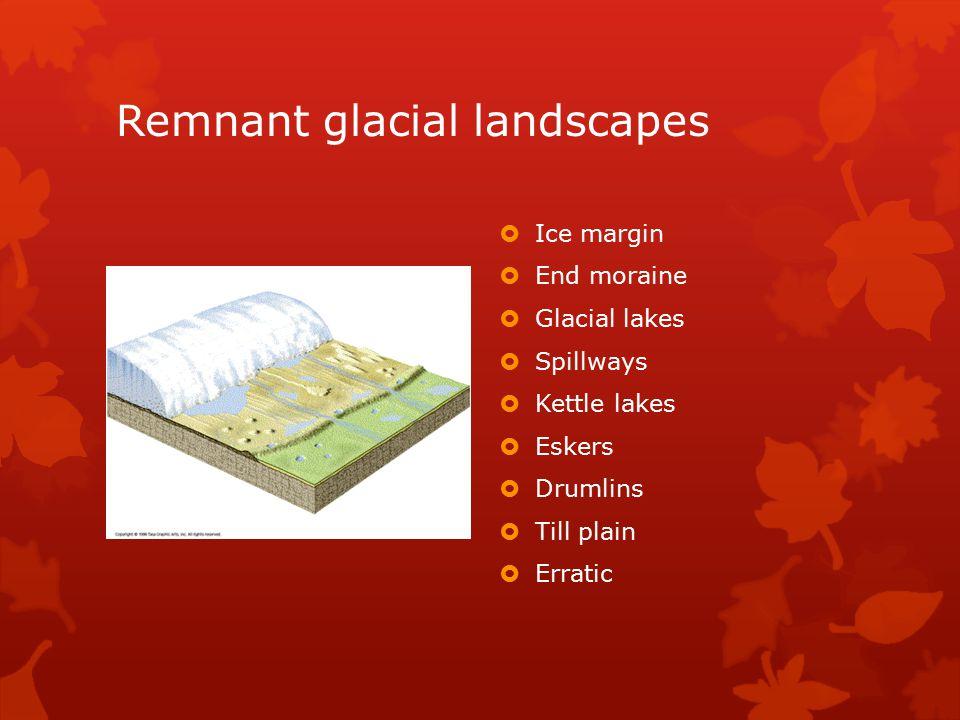 Remnant glacial landscapes