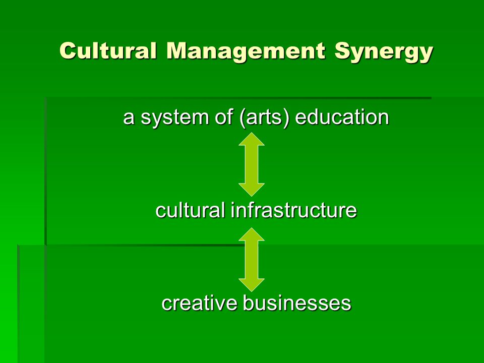 Cultural Management Synergy