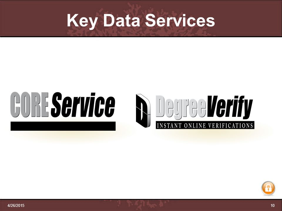 Key Data Services 4/12/2017