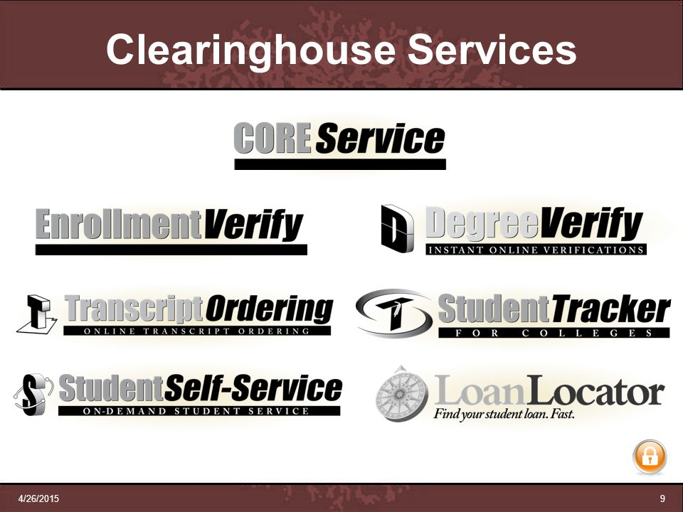 Clearinghouse Services