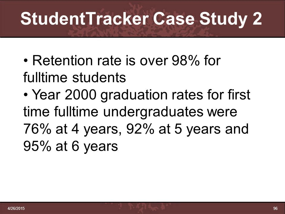 StudentTracker Case Study 2