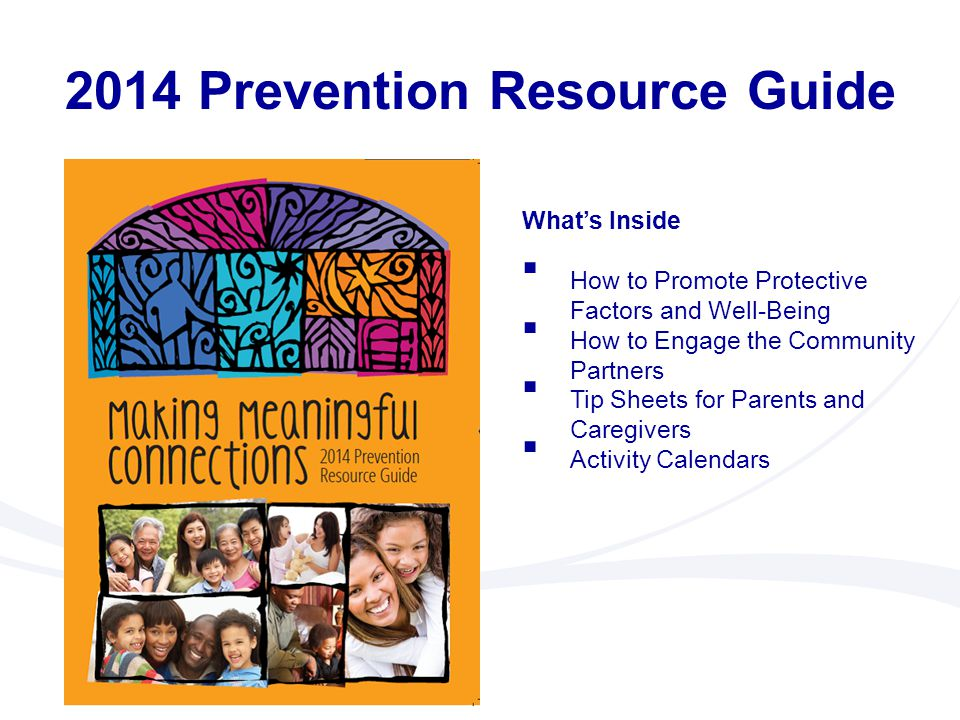 2014 Prevention Resource Guide