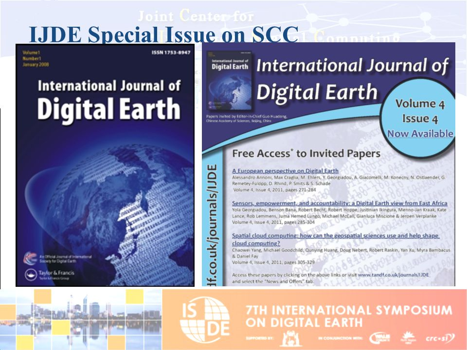IJDE Special Issue on SCC
