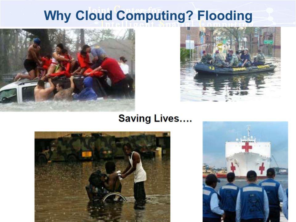 Why Cloud Computing Flooding