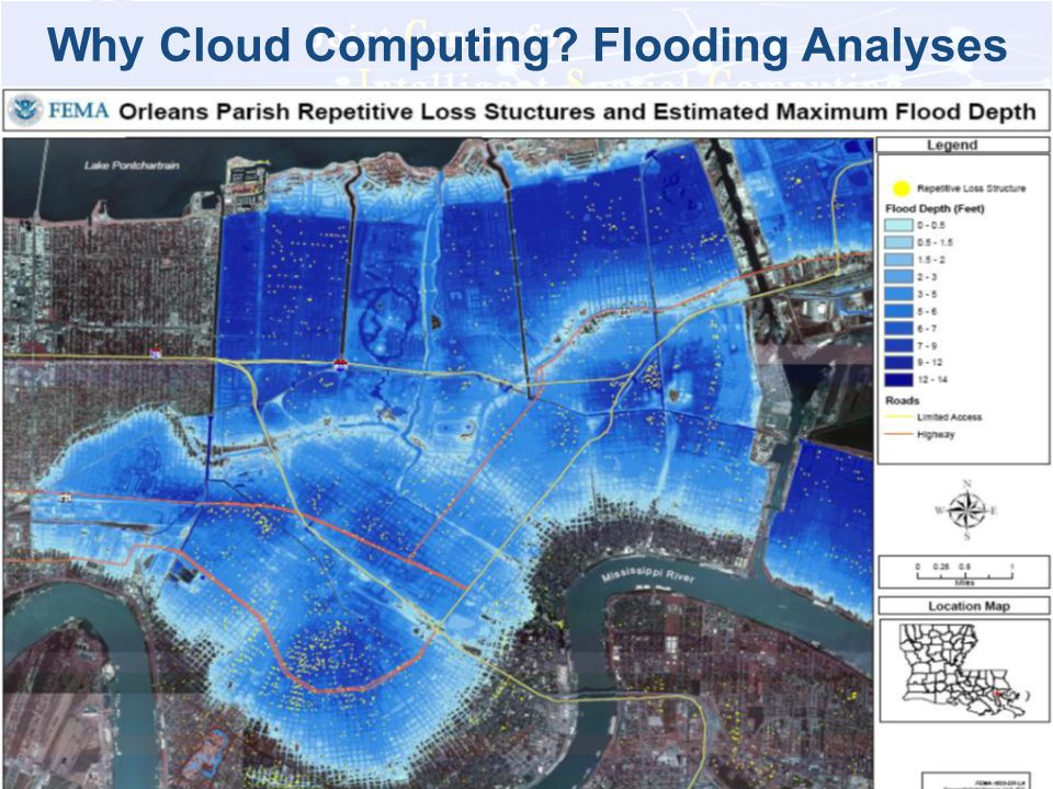 Why Cloud Computing Flooding Analyses