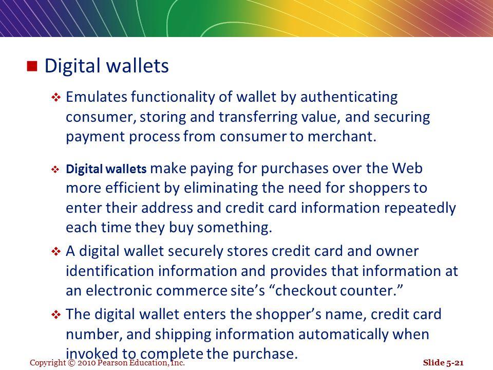 Digital wallets