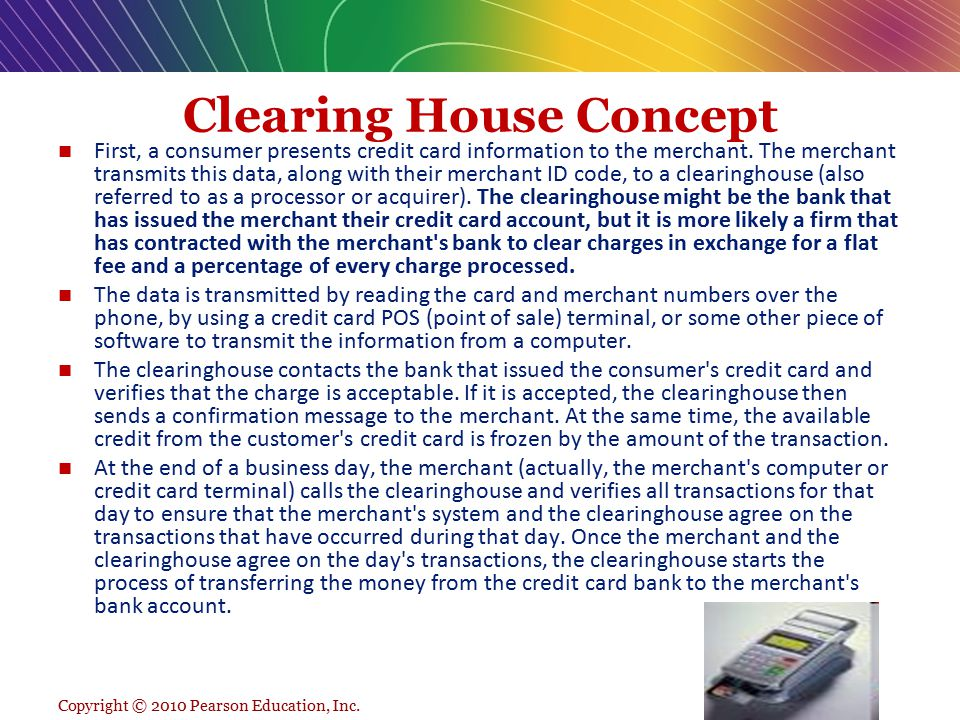 Clearing House Concept