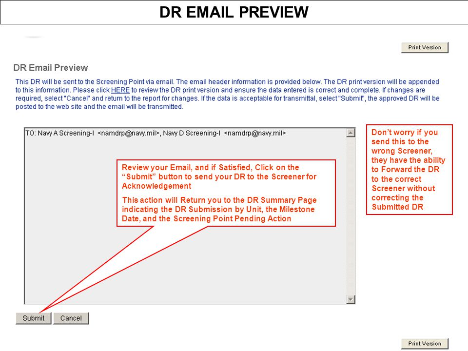 DR EMAIL PREVIEW