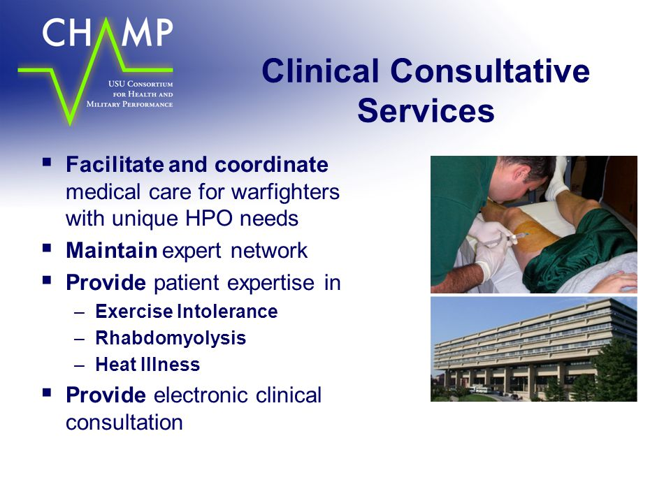 Clinical Consultative Services