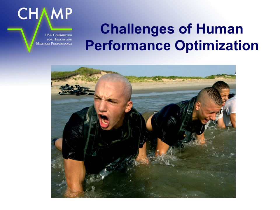 Challenges of Human Performance Optimization