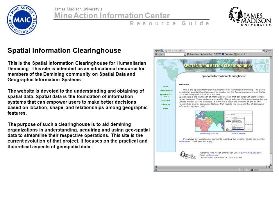 Mine Action Information Center