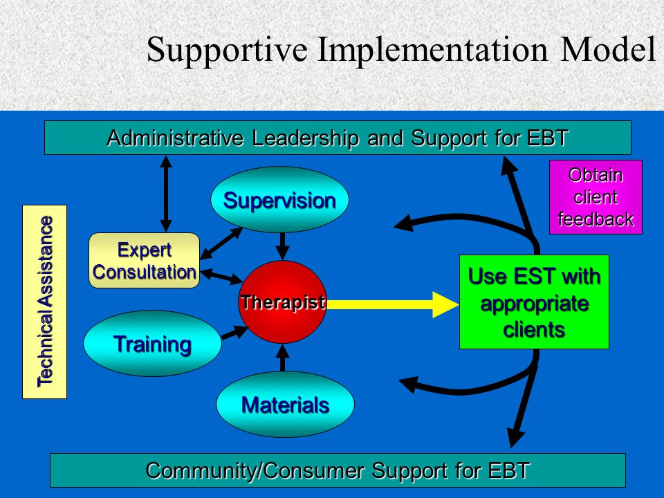 Supportive Implementation Model