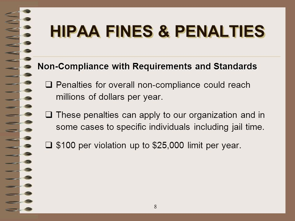 HIPAA FINES & PENALTIES