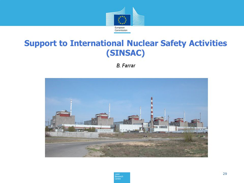 Support to International Nuclear Safety Activities (SINSAC)