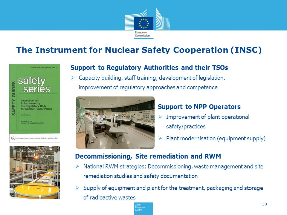 The Instrument for Nuclear Safety Cooperation (INSC)