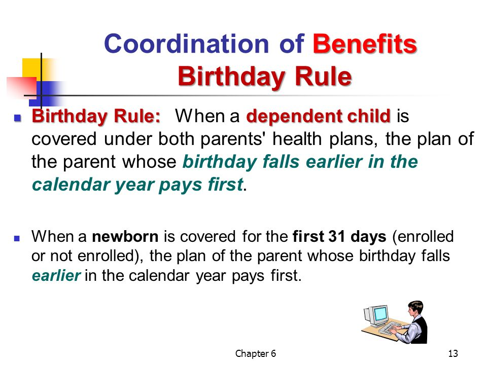 Coordination of Benefits Birthday Rule