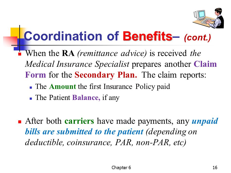 Coordination of Benefits– (cont.)
