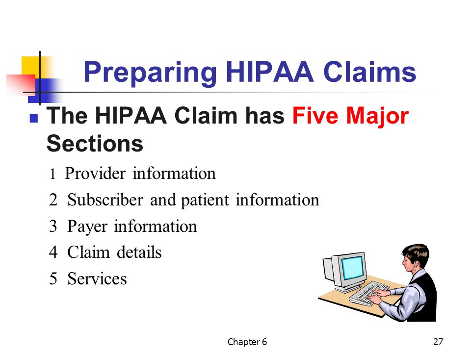 Preparing HIPAA Claims