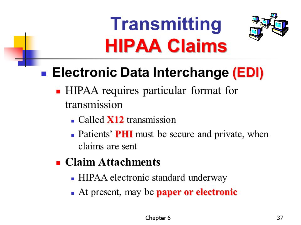 Transmitting HIPAA Claims