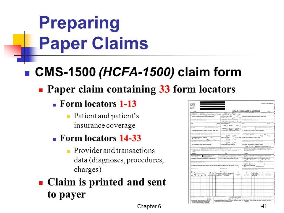 Preparing Paper Claims