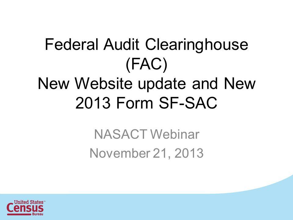 NASACT Webinar November 21, 2013