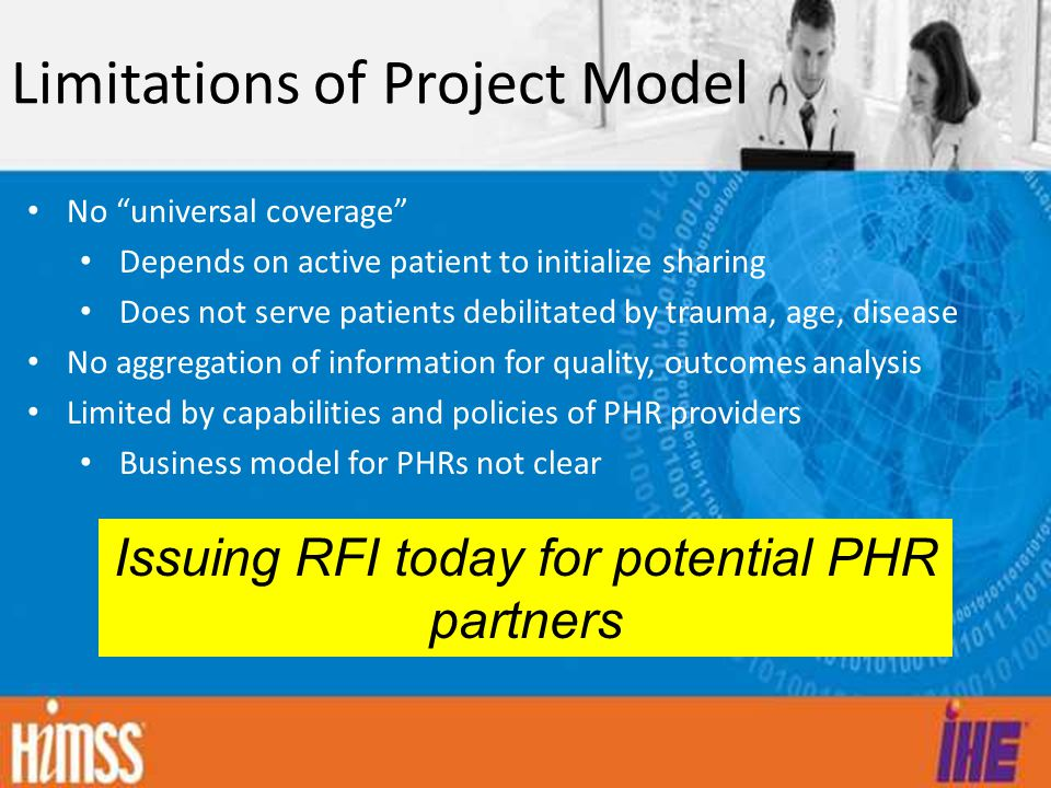 Limitations of Project Model