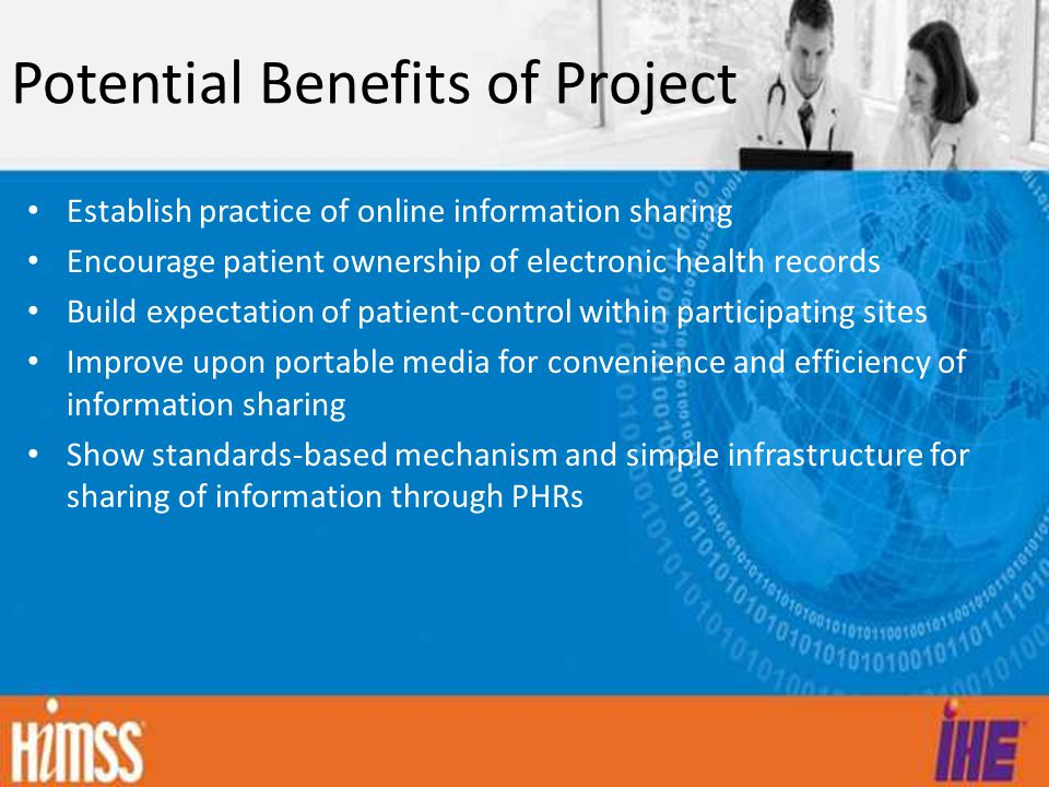 Potential Benefits of Project