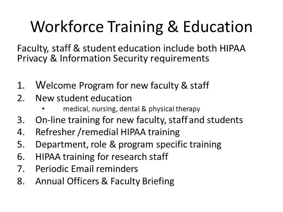 Workforce Training & Education