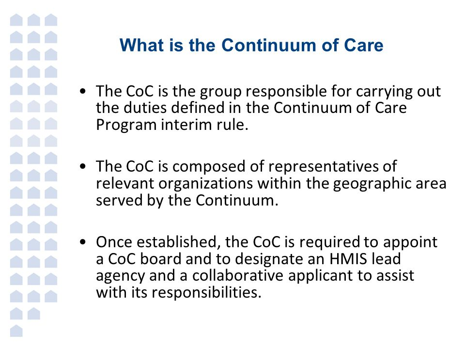 What is the Continuum of Care