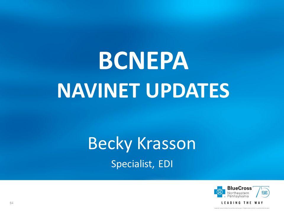 BCNEPA NAVINET UPDATES