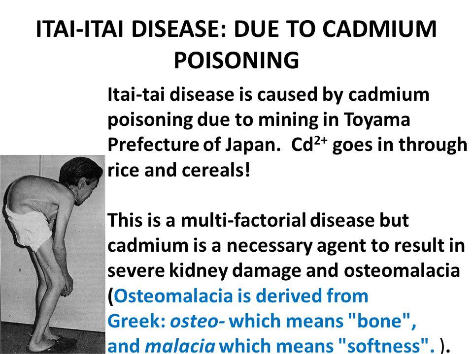 ITAI-ITAI DISEASE: DUE TO CADMIUM POISONING