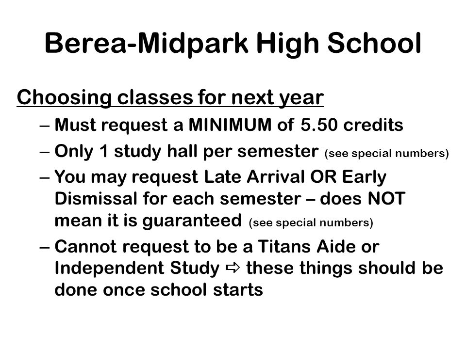Berea-Midpark High School