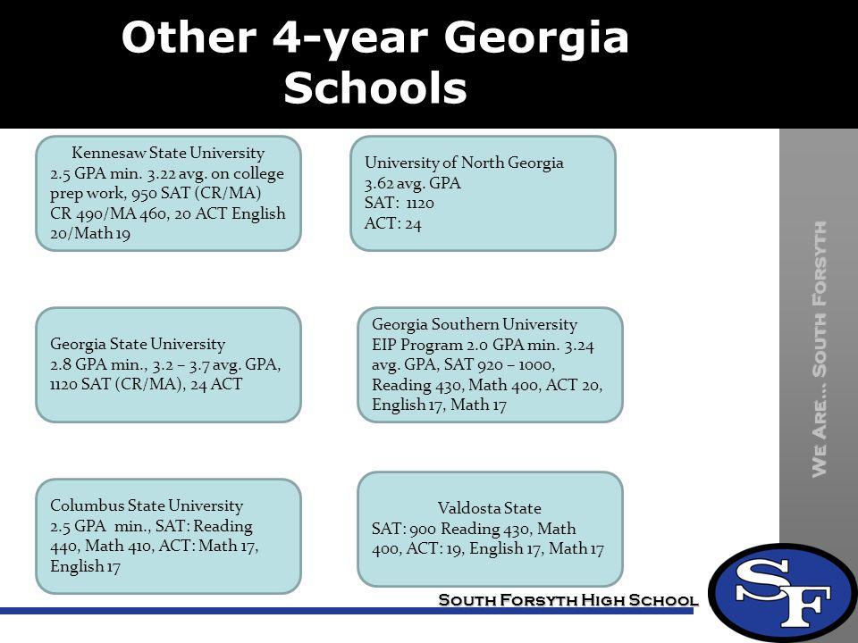 Other 4-year Georgia Schools