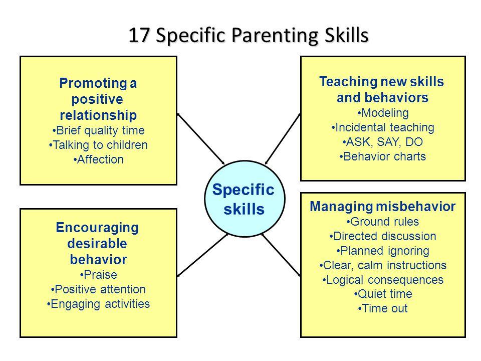 17 Specific Parenting Skills