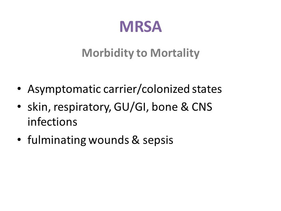 Morbidity to Mortality